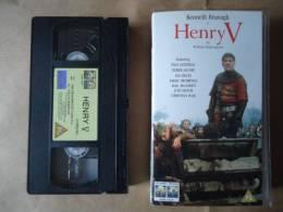 VHS K7 VIDEO FILM HENRY V / KENNETH BRANAGH / VERSION ANGLAISE - Dramma
