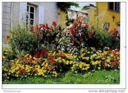 LOUVECIENNES  1ER PRIX VILLA GE FLEURI VOEUX PIERRE LEQUILLER 1998 DOUDLE PAGE N0CPM - Louveciennes