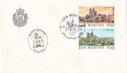 B02  Enveloppe FDC De San Marino - Du 10-06-1989 - FDC