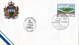 B02  Enveloppe FDC De San Marino - Du 11-06-1990 - FDC