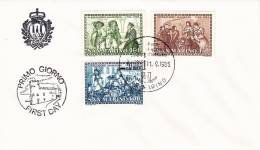 B02  Enveloppe FDC De San Marino - Du 11-09-1985 - FDC