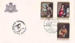 B02  Enveloppe FDC De San Marino - Du 11-12-1980 - FDC