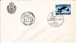 B02  Enveloppe FDC De San Marino - Du 13-06-1987 - FDC