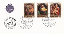 B02  Enveloppe FDC De San Marino - Du 15-12-1981 - FDC
