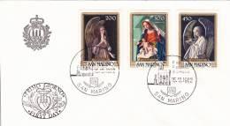 B02  Enveloppe FDC De San Marino - Du 15-12-1982 - FDC