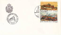 B02  Enveloppe FDC De San Marino - Du 18-10-1988 - FDC