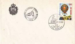 B02  Enveloppe FDC De San Marino - Du 22-05-1983 - FDC