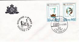 B02  Enveloppe FDC De San Marino - Du 24-06-1985 - FDC
