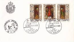 B02  Enveloppe FDC De San Marino - Du 26-11-1986 - FDC