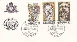 B02  Enveloppe FDC De San Marino - Du 27-03-1980 - FDC