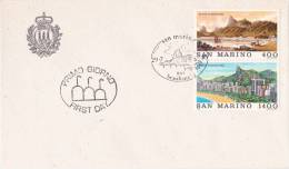 B02  Enveloppe FDC De San Marino - Du 29-07-1983 - FDC