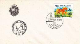 B02  Enveloppe FDC De San Marino - Du 29-09-1983 - FDC