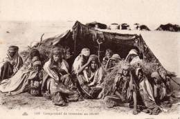 Afrique, Campement De Nomades Au Desert - Cartes Postales