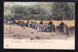 AFR-36 CONGO BELGE VILLAGE DE L'ILE DES PRINCES EN FACE DE BOMA - Congo - Kinshasa (ex Zaire)