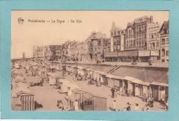 MIDDELKERKE  -  La  Digue  -  De  Dijk  -  1935   -  STAR  - TRES BELLE CARTE ANIMEE - Middelkerke