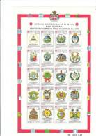 SMOM 1986 CONVENZIONI POSTALI DAL 1977 AL 1986 - BF INTEGRO - Sovrano Militare Ordine Di Malta
