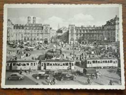 Karlsplatz / Karlstor ( Tram / Old Car @ 16.30 Hr. ) Anno 19?? ( Zie Foto Details ) !! - Muenchen