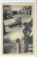 ITALIE -  SALUTI DI BRESCIA --  PRECURSEUR - VERSO - Brescia