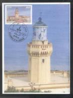 Algeria / Algerien/ Algérie  Maximum Cards  / Les Phares 2013 - Lighthouses
