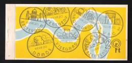 1968 CARNET  MARKENHEFTCHEN BOOKLET MAGYAR POSTA HUNGARY ( 4x 6 Timbres = 24 Timbres  )