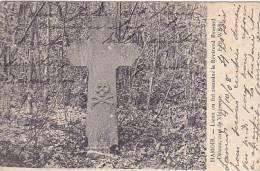 Hamoir - Lieu Ou Fut Assassiné Le Révérend Deleau, Curé De Xhignesse (peu Vue, 1908) - Hamoir