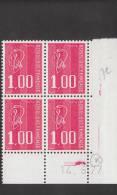 Coins Datés -  Marianne Bequet  1892 - 1 F Rouge - 14/6/77 - Superbe** - 1971-76 Marianne Of Béquet