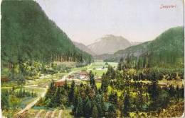 (185) Ak Seegaterl Bahnpost MARQUARTSTEIN-ÜBERSEE 1922 - Usados