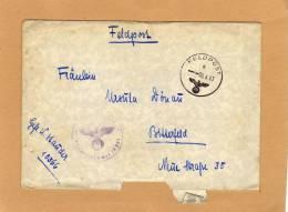 Enveloppe Brief Cover Feldpost To Betterfeld - Deutschland