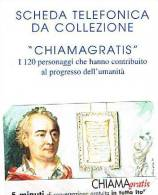 CHIAMAGRATIS - 120 PERSONAGGI PER IL PROGRESSO DELL´ UMANITA´(72): DENIS DIDEROT  - NUOVA + FOLDER (RIF.CP) - Italie