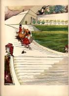 Belle Illustration ,gravure Ou Lithographie Vers 1930 Illustrateur Signée Georges Villa - Vieux Papiers