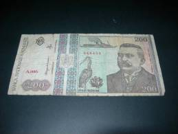 Romania.  200 Lei - Romania