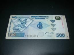 Congo.  500 Francs.  2002 - Congo