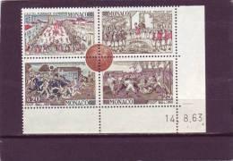 N° 627 - 0,25 FOOT BALL 1890 - 14.08.1963 - (1 Trait) - Monaco