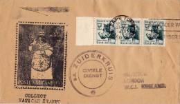 Enveloppe  Cachet  ZUIDERKRUIS  Civile Dienst   De Kaapstad Vers  London 1959 - Non Classés