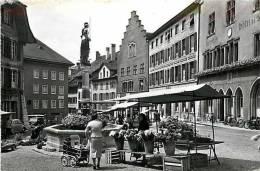 Fev13 1244 : Biel-Bienne  -  Place Du Bourg - BE Berne