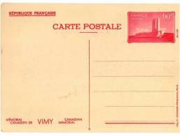Entier Postal EP - Y TS8 - Vimy 90c Rouge - Vue N° 5 - Neuf - Standaardpostkaarten En TSC (Voor 1995)