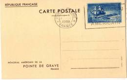 Entier Postal EP - Y TS12 - Pointe De Grave 55c Bleu - Oblitéré - Standaardpostkaarten En TSC (Voor 1995)