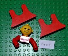 LOT LEGO FABULAND - 2 SIEGES DE MANEGE + FIGURINES - Lego System