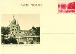 Entier Postal EP - Y TS5 - Grand Lac Du Bois 90c Rouge - Vue N° 12 - Neuf - Standaardpostkaarten En TSC (Voor 1995)