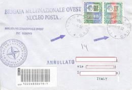 A147 - MISSIONI MILITARI DI PACE - ONU MISSIONS - UNITED NATIONS - ITALFOR KOSOVO - KOSOVO PEC - 6. 1946-.. Repubblica