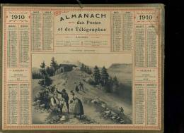 Calendrier 1910 L'alpiniste Intrépide - Calendarios