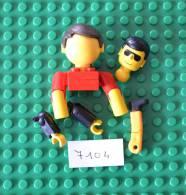 LOT LEGO FABULAND - FIGURINE + PETITS ELEMENTS - Lego System