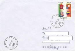 A150 - MISSIONI MILITARI DI PACE - ONU MISSIONS - UNITED NATIONS - ITALFOR KOSOVO - G.S.A. PEC - 2001-10: Storia Postale