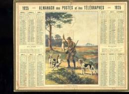 Calendrier 1925, L'heureux Chasseur - Calendriers