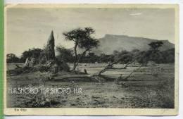 Am Etjo ,Deutsch-Südwest-Afrika, Um 1930/1940 Verlag: ---. POSTKARTE, FELDPOST OHNE Frankatur, Mit Stempel, Heidenheim 8 - Namibia