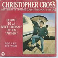 "45 Tours SP -  Du Film "" ARTHUR "" ( CHRISTOPHER CROSS ) - Soundtracks, Film Music"