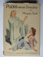 """Magda Trott """"Puckis Neue Streiche"""" Von 1952 - Livres Pour Enfants"""