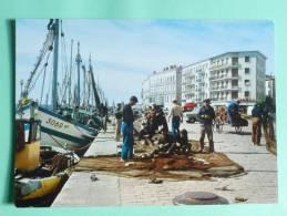 SETE - Les Quais De La Marine, Bateaux De Peche. - Sete (Cette)