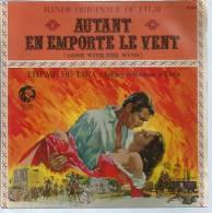 """45 Tours SP -  Du Film """" AUTANT EN EMPORTE LE VENT """" ( CLARK GABLE / VIVIEN LEIGH / OLIVIA DE HAVILLAND ) - Soundtracks, Film Music"""