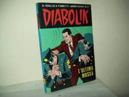 Diabolik(Astorina 1989)  Anno XXVIII° N. 5 - Diabolik